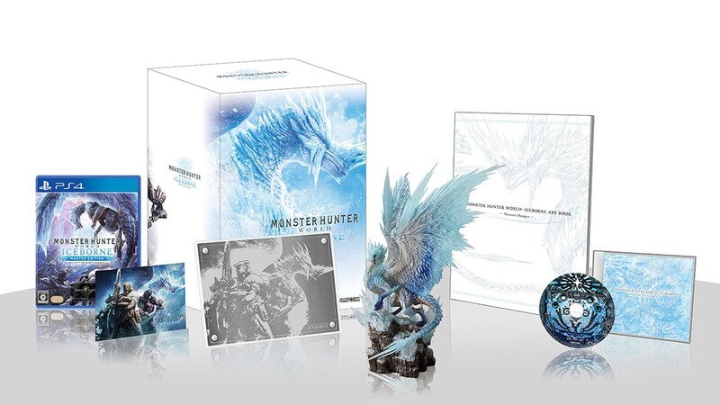 PS4 Monster Hunter World: Iceborne (Collector Edition) 魔物獵人 DLC+figure 中日英合版 - 遊戲領域
