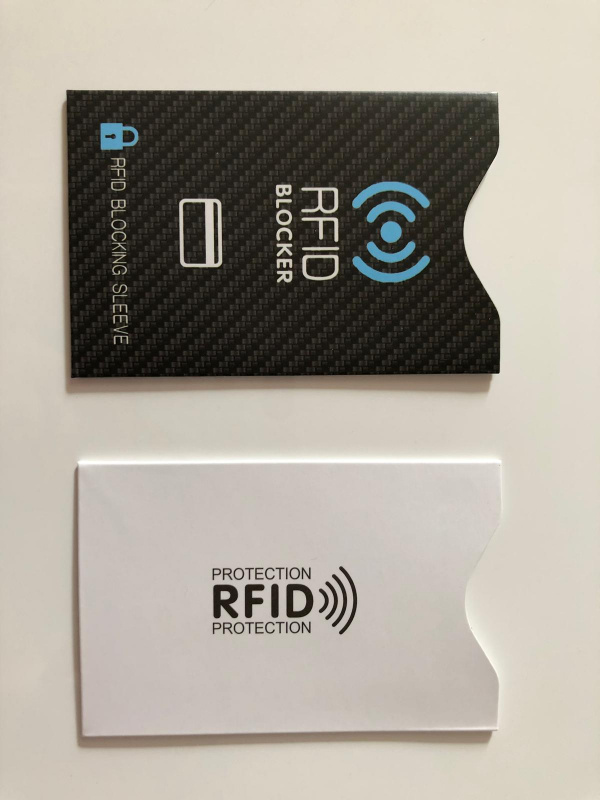 RFID/NFC 防盜保護卡套 (多款多色) - First October