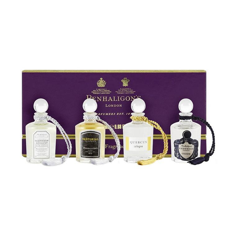 Penhaligon Men Collection Set 5ml x 4pc (Endymion Cologne. Blenheim Bouquet EDT. Sartorial EDT. Quercus EDC) - Chelsea Beauty