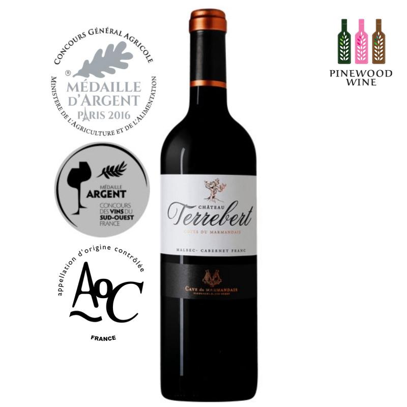 Pinewood Wine- Château Terrebert 法國古樹莊園紅酒- AOC Côtes du Marmandais 2016 - Pinewood Wine
