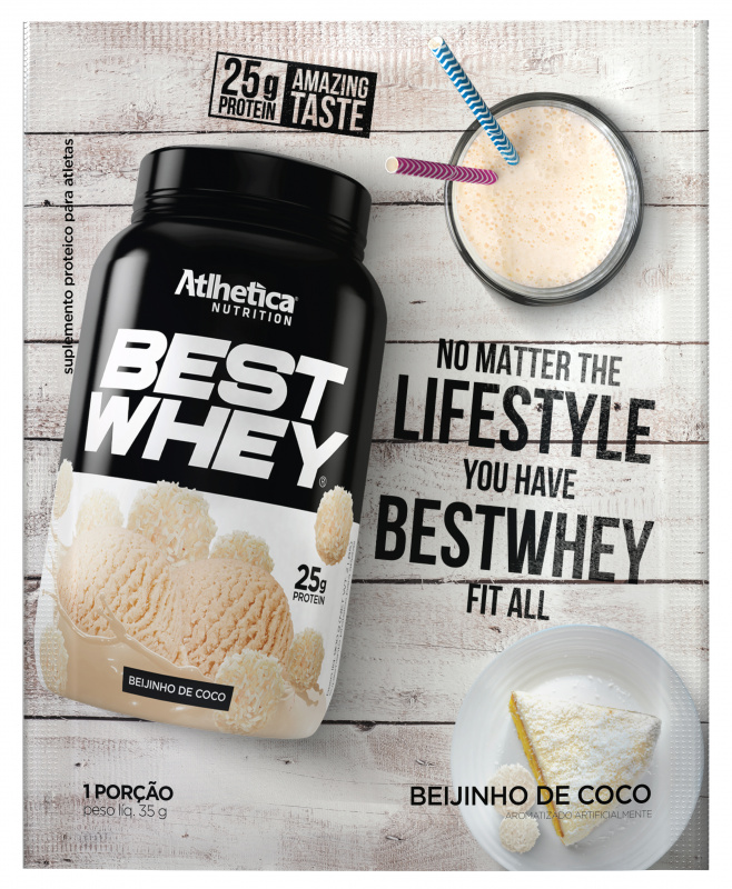 BEST WHEY 至尊乳清蛋白粉 (香滑椰子奶)(獨立包裝) 35克/包 - Life Is For Excellence Ltd