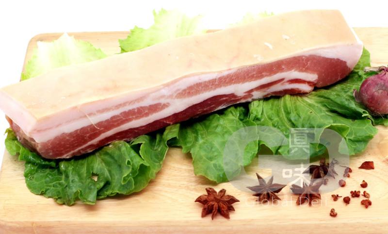 丹麥挑骨豬腩肉(帶皮) 600g - 真味市場
