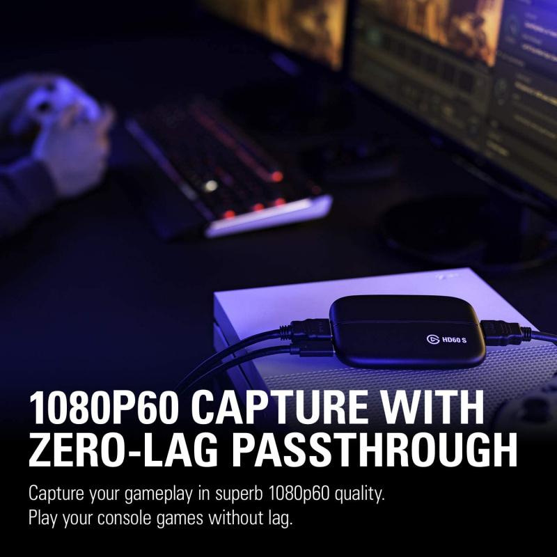 ELGATO - Game Capture HD60-S for MAC/WIN【香港行貨】 - MoboPlus