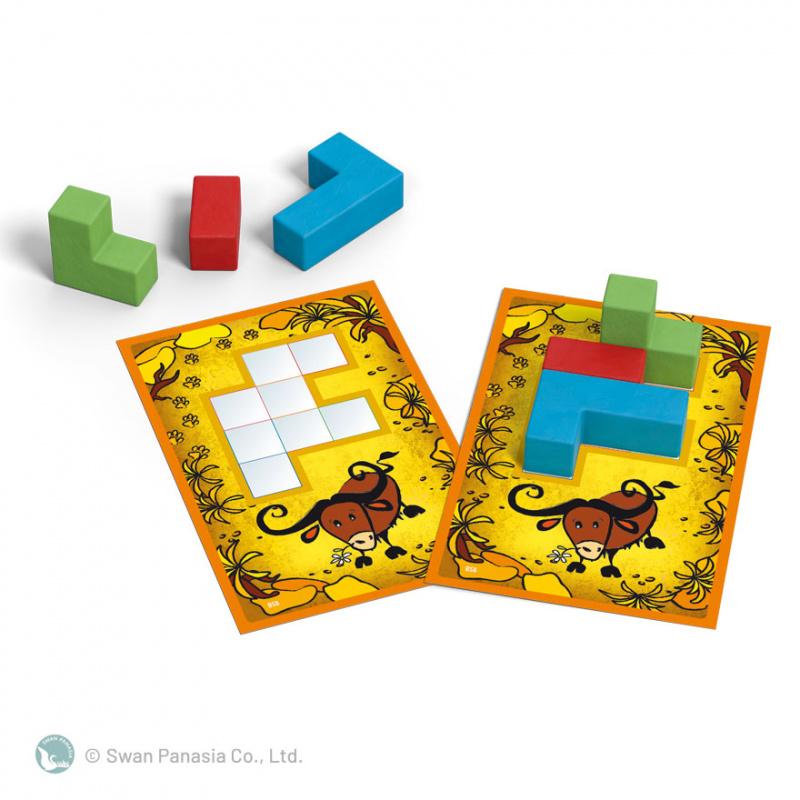 Ubongo 3D Junior 烏邦果3D兒童版 - Capstone Boardgame Co