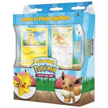 Pokemon TCG Let's Play 精靈寶可夢 當我們玩在一起(皮卡丘+伊布) - Capstone Boardgame Co