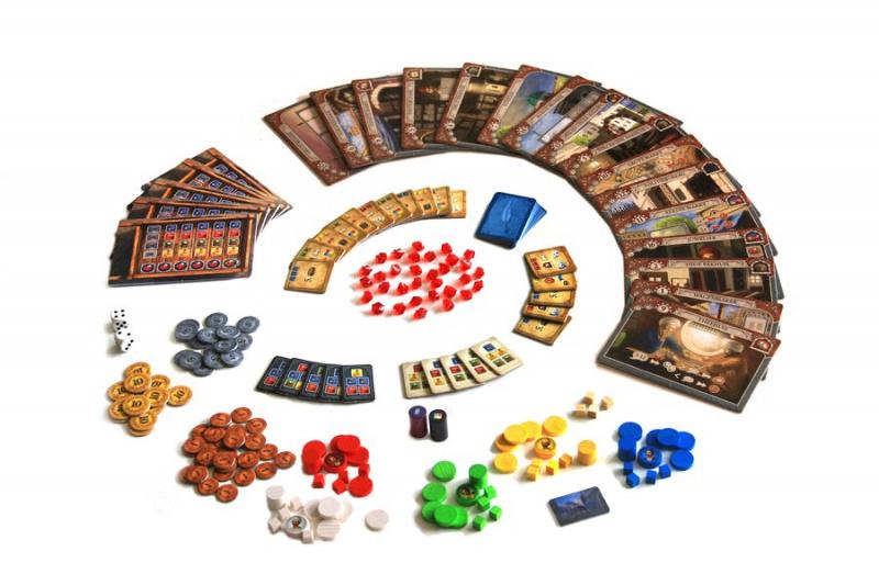 Istanbul English Ver. (內附中文說明) - Capstone Boardgame Co