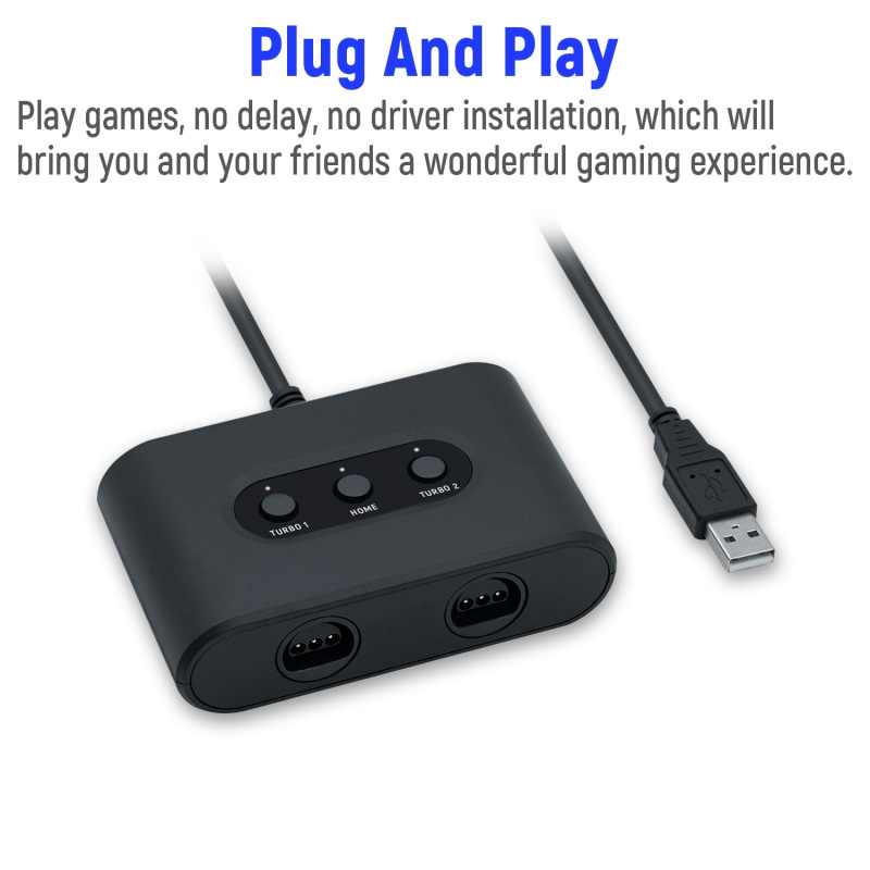 Mayflash nintendo switch N64手制轉PC USB/Switch轉換器雙接口 連發雙打 - Supreme Factory Limited
