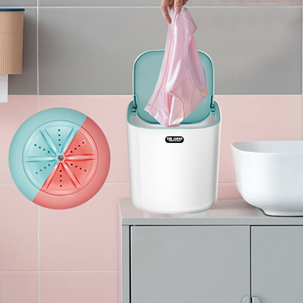 TSK - Mini家用便攜式超聲波渦輪桌面洗衣機 - 日本ASK數碼專門店