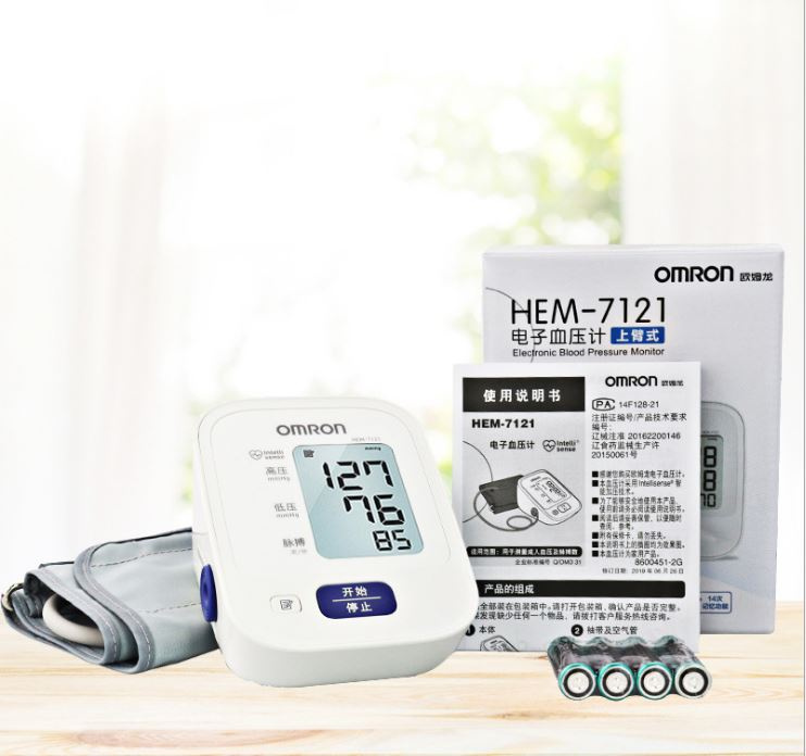 Omron HEM-7121 手臂式電子血壓計 (中國版) - DayDayTouch