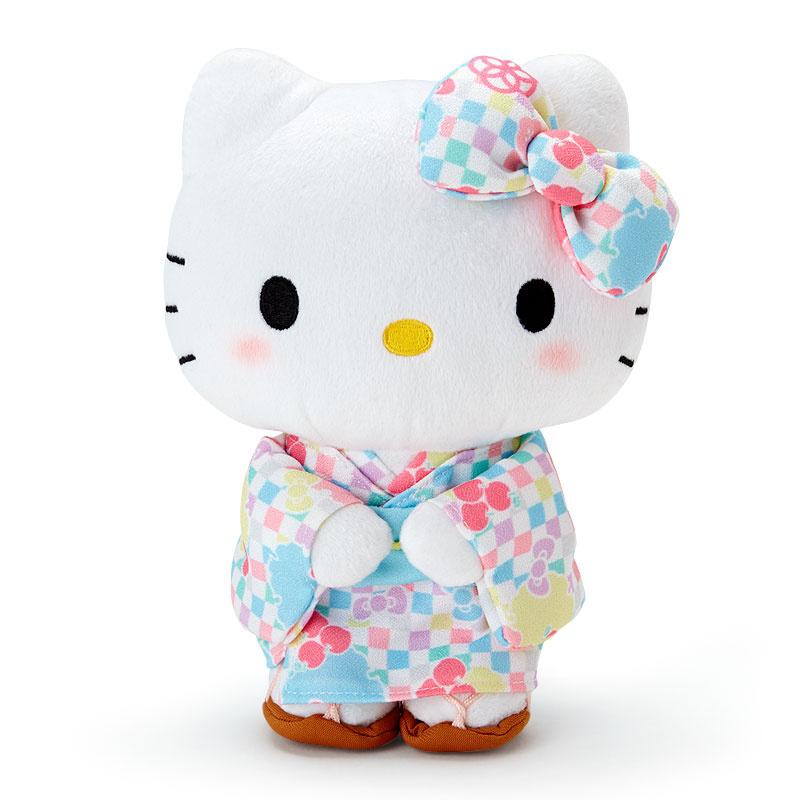 日本SANRIO Hello Kitty 和服公仔 / 鎖匙扣 [2色] [2款] - HKdotBuy