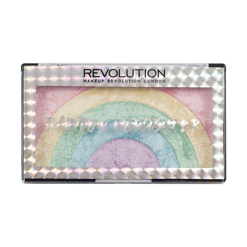 Makeup Revolution Rainbow Highlighter-經典彩虹兩用系列(眼影/腮紅) - tfgirls