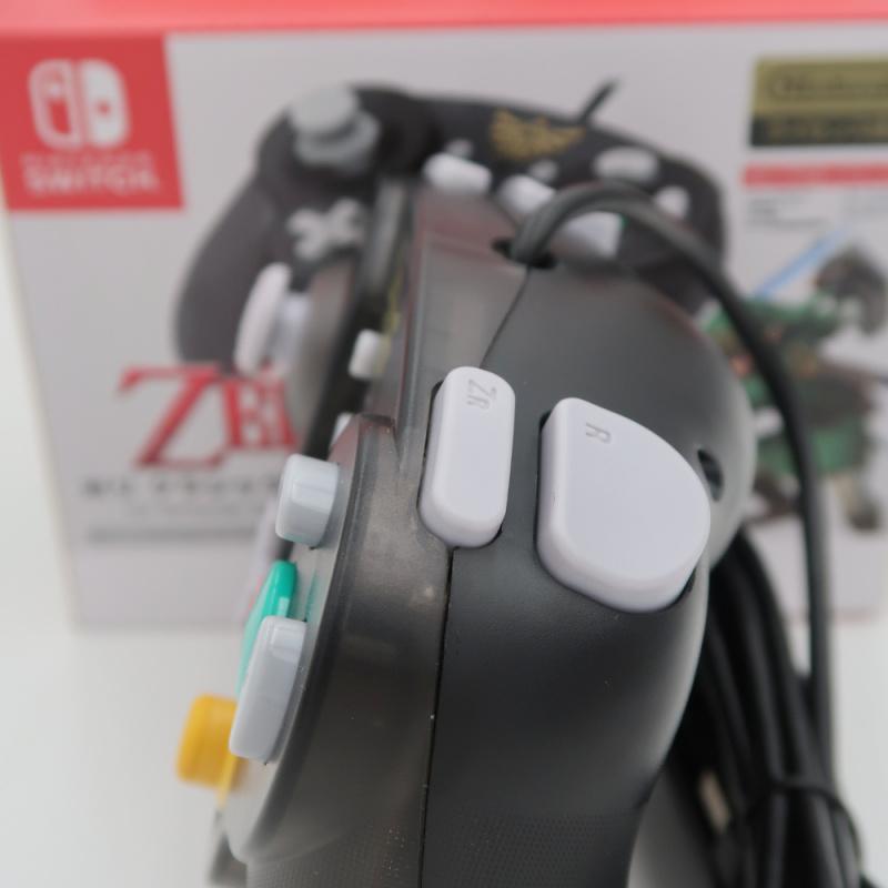 Hori原裝經典NGC有線手柄 Switch專用 塞爾達傳說復古手制 The Legend of Zelda ForNintendo Switch/PC - Supreme Factory Limited