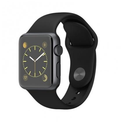 Apple Watch Sport - 38 毫米太空灰鋁金屬錶殼配黑色運動錶帶 價錢,規格及用家意見 - 香港格價網 Price.com.hk
