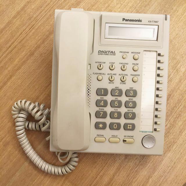 [大量]Panasonic KX-T7667 辦公室電話 二手價錢及狀況 - Price二手買賣區 Price.com.hk