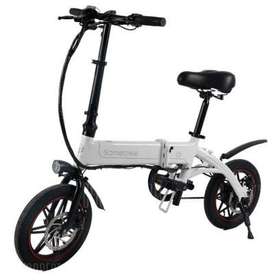 Samebike YINYU14 Smart Folding Bicycle Moped Electric Bike E-bike