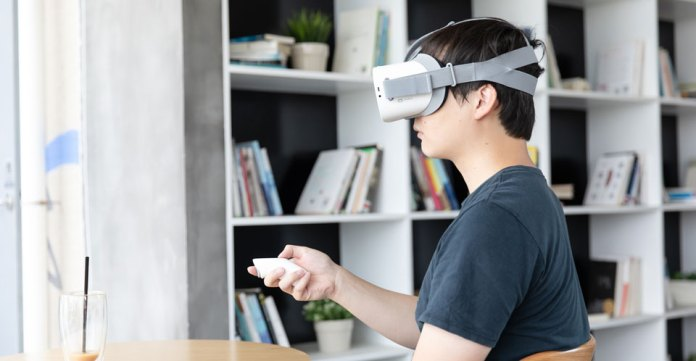 Xiaomi VR Standalone V10 - Perhaps this is the helmet of virtual reality