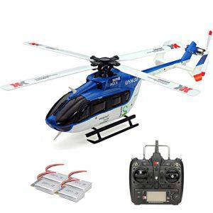 XK K124 Brushless EC145 RC Helicopter