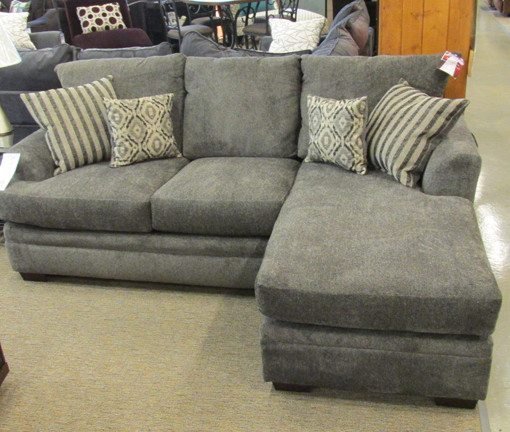 jackson furniture sectional sofas cost to recover sofa in leather pewter - thesofa
