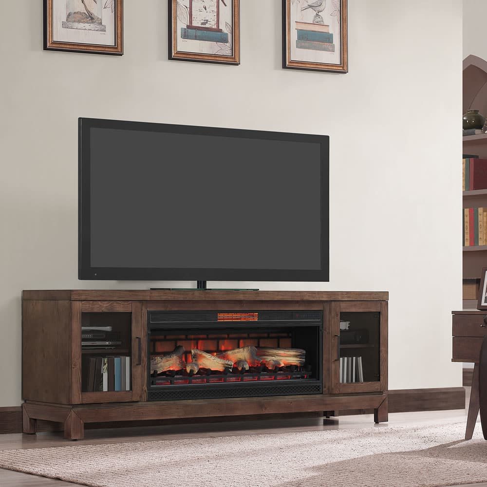 Twin Star 42mm6018 1614 Berkeley Tv Stand With Electric Fireplace