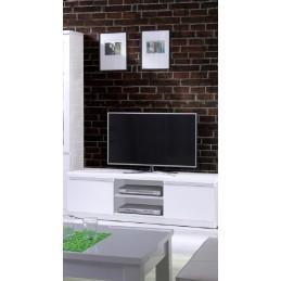 ensemble pour votre salon fabio meuble tv hifi vitrine petit modele led meubles design haute brillance