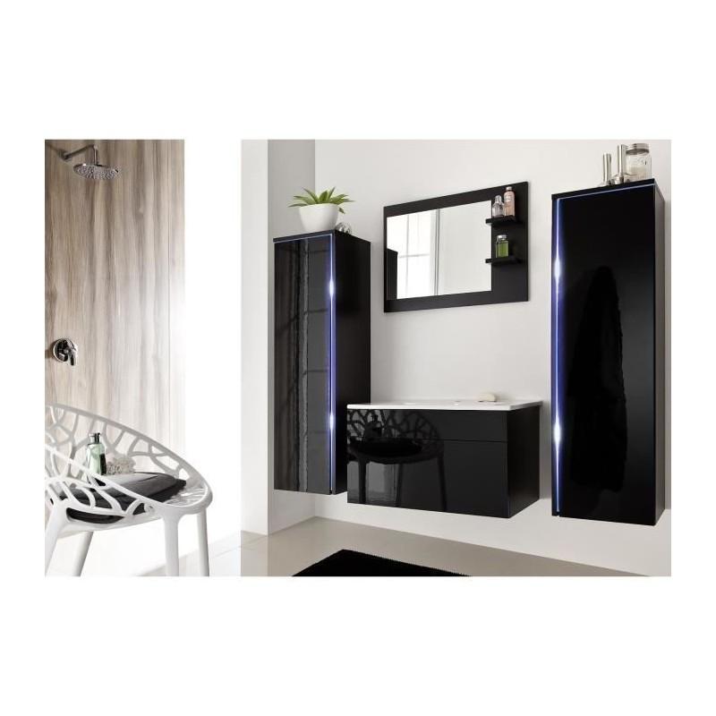 Meubles Et Decorations Salle De Bain Complete Dream Noir Facade L