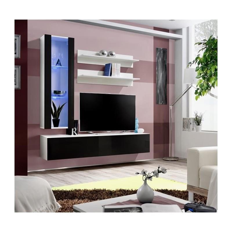 Meubles Et Decorations Meuble Tv Fly H2 Design Coloris Blanc Et