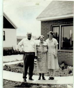 Herman, his Mom and Nettie