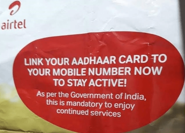 How To Link Aadhaar With Mobile Number (The Most Quickest Way)