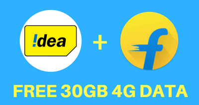 Idea Flipkart Data Offer