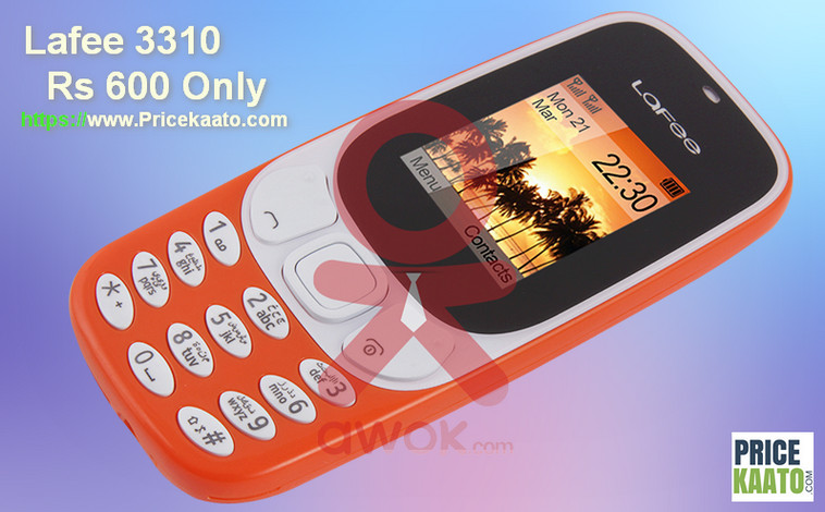 Buy Lafee 3310, The Cheapest Nokia 3310 Clone At Rs 600 Only!