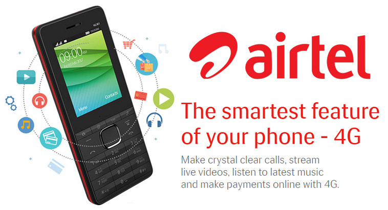 Airtel Feature Phone 4G VoLTE