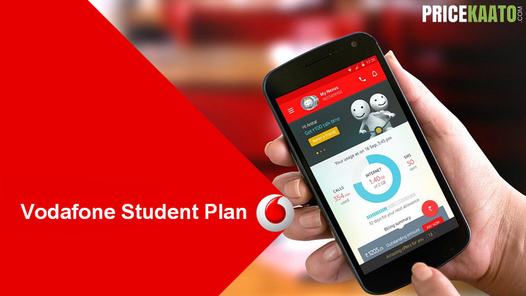 Vodafone Student Plan Rs 352: Activate & Get 1GB/Day For 84 Days