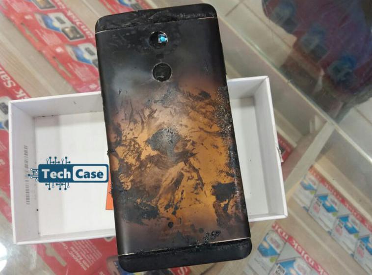 Xiaomi Redmi Note 4 Explosion Battery