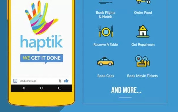 Haptik App Offer