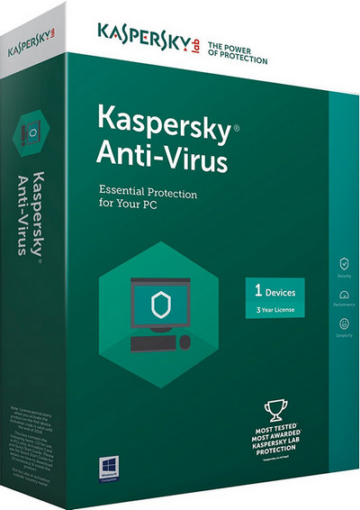 Kaspersky Anti-Virus Latest Version For 1 PC, 3 Years At Rs 649 Only On Amazon [MRP Rs 1,199]