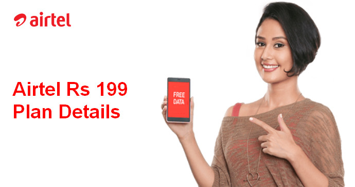 Airtel 199 Plan Details Recharge