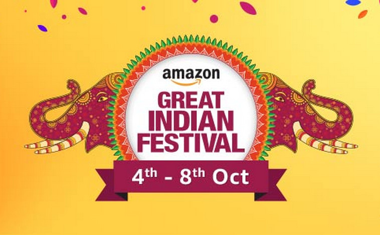 Amazon Great Indian Festival Sale 4th To 8th October 2017 Deals Offers Diwali