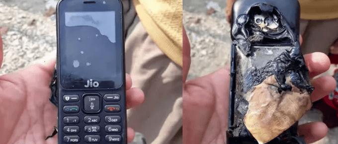 Jio Phone Explosion