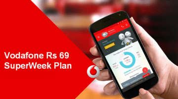 Vodafone Launched All New Rs 69 SuperWeek Plan (See Details Here)