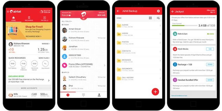 My Airtel App Cashback Offer Mastercard
