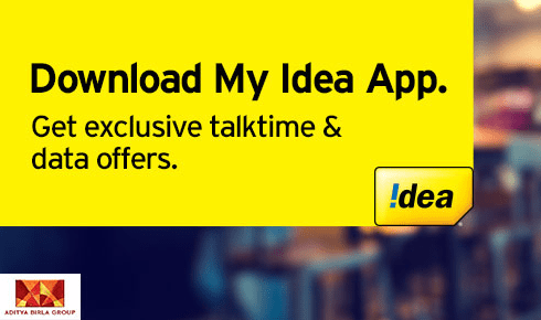 My Idea App Is Offering Free 512MB Data To The Postpaid Users