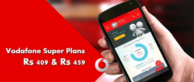 Vodafone 409 & 459 Super Plan Details