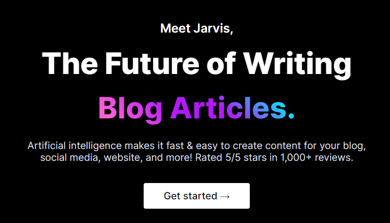 jarvis artificial intelligence