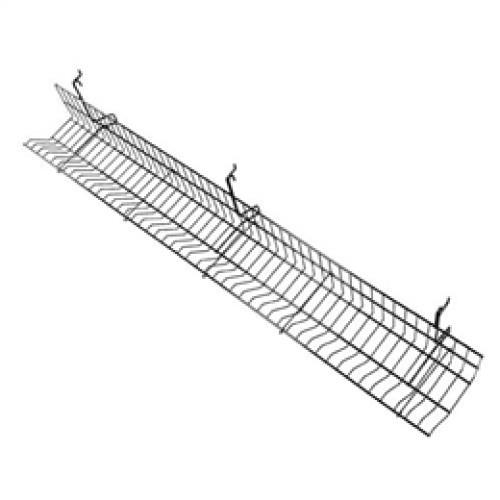 4 Ft long Slatwall/ Gridwall/ Pegboard Wire Video/CD/DVD