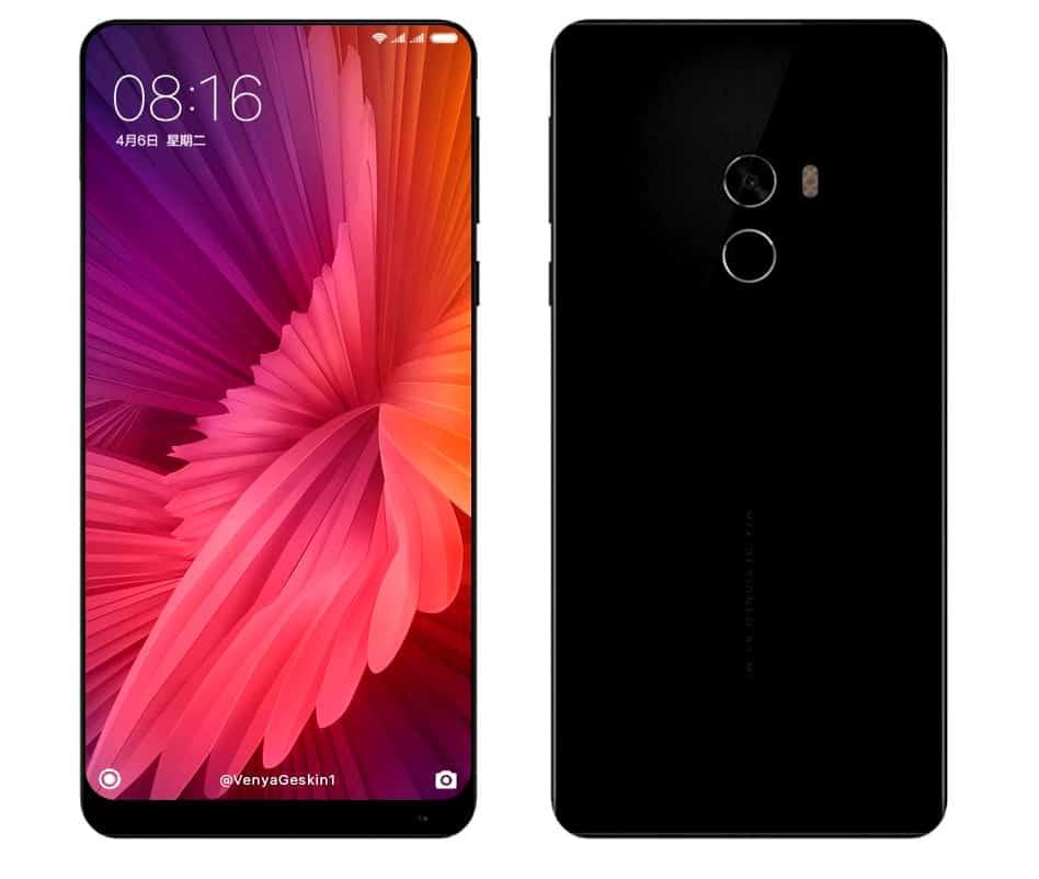 Xiaomi Mi Mix vs Xiaomi Mi Mix 2