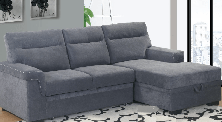 sofa bed and chaise leather sofas phoenix az 1607 pricepro grocery furniture store in surrey bc home shop living room