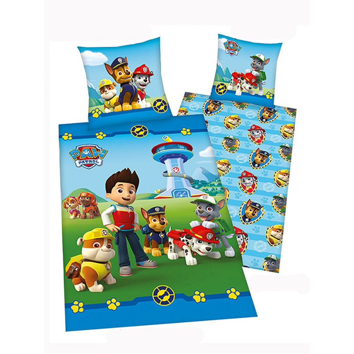 Paw Patrol Gang Single Cotton Duvet Cover  Bedroom  Bedding