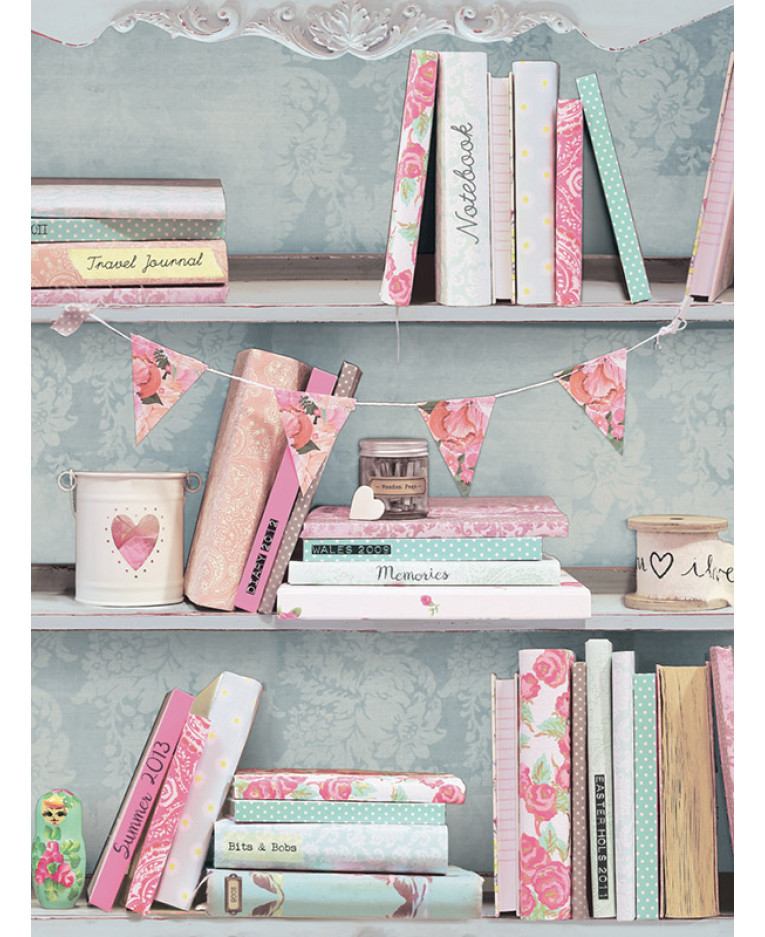 Arthouse Curious Bookshelves Wallpaper 694000