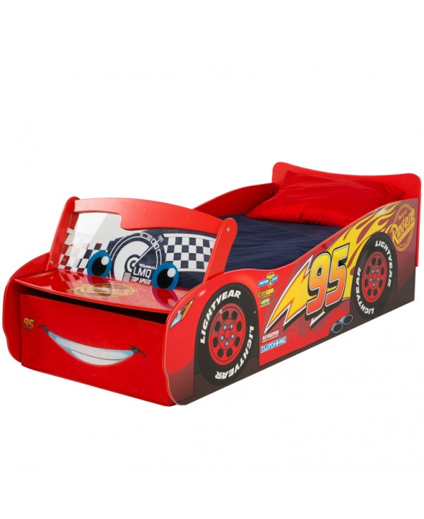 Disney Cars 39Lightning McQueen39 Feature Toddler Bed with