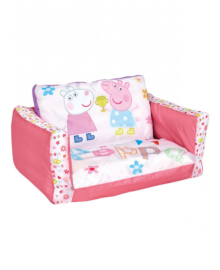 disney princess flip out sofa yellow slipcovers for sofas peppa pig | bedroom girls lounger bed